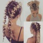 Beste Frisur für Frauen über 40 - #Beste #Frauen #Frisur #für #geflochten #ü...