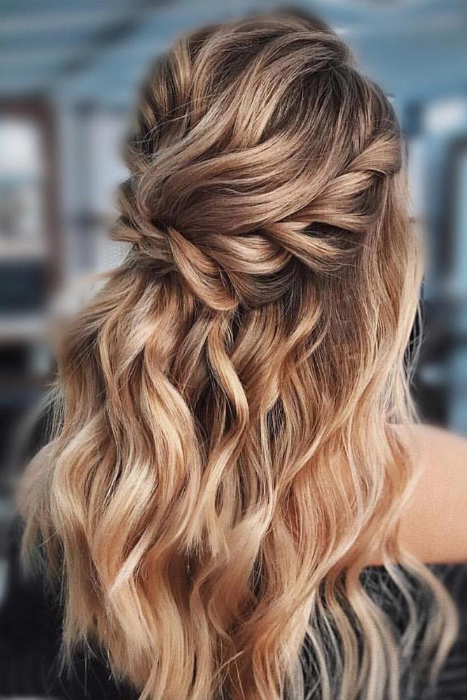 Beste Hochzeit Frisur Trends 2019 – # Frisur # Trends # Hochzeit
