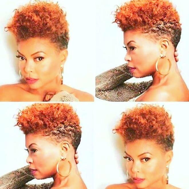 Black Women Mohawk Hairstyles
