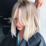 Blonde medium-length coiffure blonde reward #blonde # coiffure – #blonde #hair