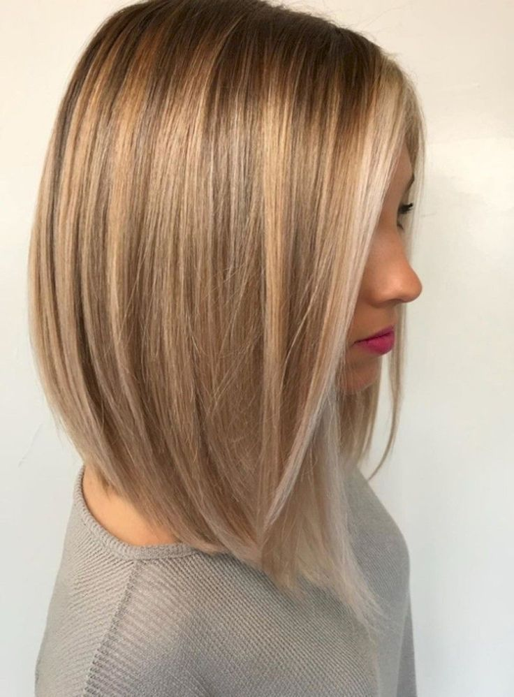 Blondes langhaariges Haar 2018 #Medium lang #blond #Frisuren # 2018