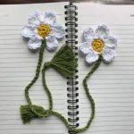 Blooming Bookmark - Free Pattern