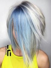 Blue Hair: 30 Blue Hair Color Ideas,  #Blue #color #coloredhairstylesblue #hair #ideas