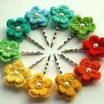 Blume häkeln - 111 fantastische Beispiele! - Archzine.net