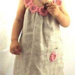 Blumenkleid: Wäsche, Bio, glücklicher Geburtstag, Baby, Mädchen, Mädchen