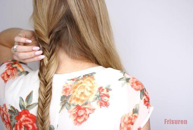 Braids Fishtail frisur Frisuren Weben#braids #classpintag #explore #Fishtai  Bra…