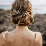 Braut Haarschmuck, Tiara, Headpiece im Boho Style - Luna