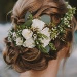 Bridal Flower Crown - 20 Bridal Hairstyle Ideas! - Mahasoa