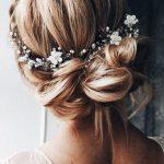 Bridal hair vine|Delicate flower hair accessories| Bridesmaid gift