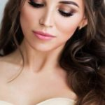 Bride Makeup Ideas; wedding makeup for brown eyes; blue eyes; wedding makeup for...