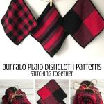 Buffalo Plaid Dishcloth Set