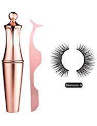 Bulary Magnetic Eyeliner Magnetic Eyelashes Kit Wasserdichter Langlebiger Eyelin…