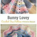 Bunny Lovey Crochet Free Pattern