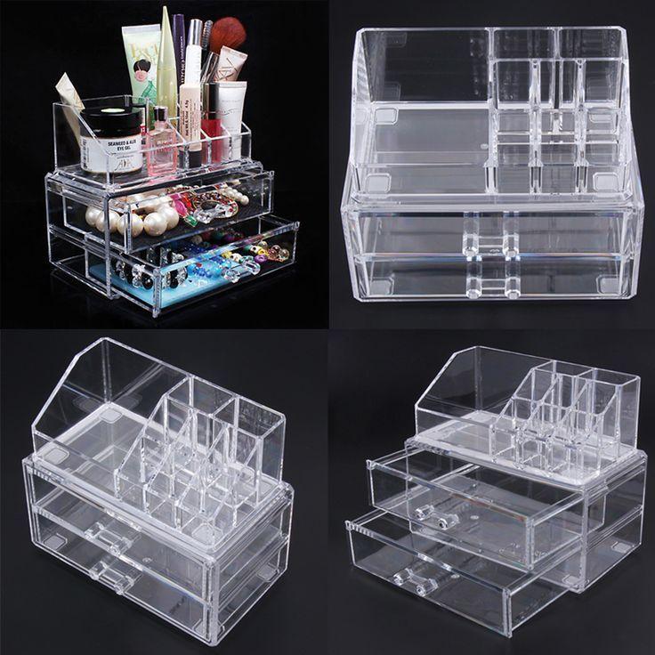 Buy Amazon: amzn.to/2A9BiWl Tragbare Transparent Make-Up Veranstalter Aufbewahru…
