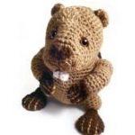 Buy Benny the Beaver amigurumi pattern - AmigurumiPatterns...