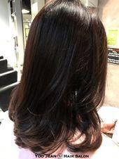 C Curl Frisuren Koreanische Frisuren für lockiges Haar Frisuren #BeautyBlog #Ma…