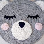 CROCHET PATTERN Classic Teddy Bear Rug PDF Crochet Pattern with Instant Download