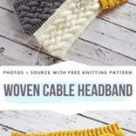 Cable Knitted Headbands Free Patterns,  #cable #Free #Headbands #Knitted #knittingpatternshea...