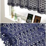 Cafe Curtain Crochet
