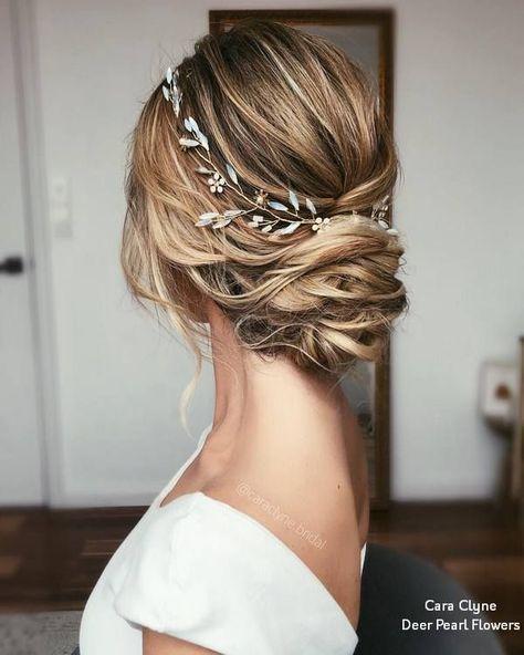 Cara Clyne Lange Hochzeit Frisuren und Hochzeit Hochzeiten # Hochzeiten # Frisuren # Haar – Hochzeitskleid