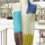Caron Cakes Infinity Scarf Crochet Pattern, Kaleidoscope Infinity Scarf