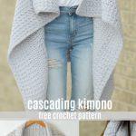 Cascading Kimono Cardigan Crochet Pattern
