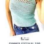 Catalina Crochet Tank Top Free Pattern