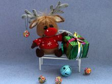 Christmas Fawn, Crochet pattern