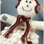 Christmas Towel Topper Crochet Free Patterns