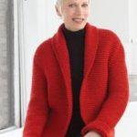 Chunky Knit Sweater Pattern- free beginner knit patterns