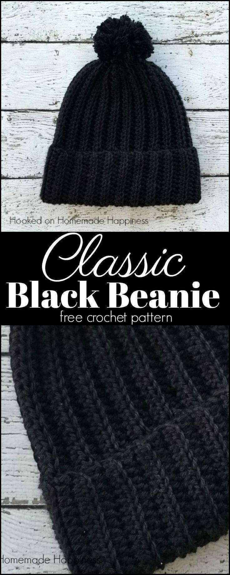 Classic Beanie Crochet Pattern