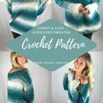 Comfy & Cozy Oversized Crochet Sweater Pattern