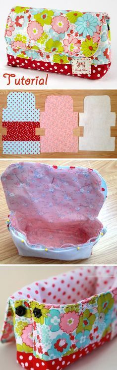 Cosmetic Bag with Pattern