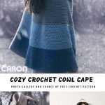 Cozy Crochet Cowl Cape with Free Pattern