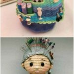Crafter Granny Crochet Doll Free Pattern - Crochet and Knitting Patterns