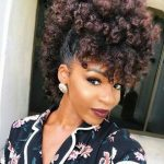 Crazy and Wild Curly Mohawk Hairstyles for You | New Natural Hairstyles