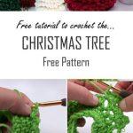 Crochet A Christmas Tree | Free Pattern