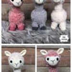 Crochet Alpaca Amigurumi Free Patterns