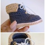 Crochet Baby Boots From 0 To 3 Months - Life with Alyda