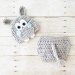 Crochet Baby Hippo Hat Beanie Diaper Cover Set Infant Newborn Baby Handmade Photography Photo Prop Baby Shower Gift