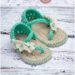 Crochet Baby Sandals Patterns Cutest Ideas