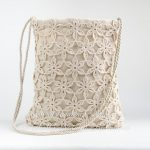 Crochet Bag PATTERN - July Field, Shoulder Bag Pattern, Messenger Tote Purse, Cross-body Bag Pattern, Boho Bag, Graph, Free option - PDF