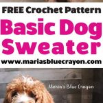 Crochet Basic Dog Sweater - Free Step by Step Tutorial