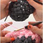 Crochet Beautiful Beanie Hat Puff Stitch