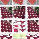 Crochet Beautiful Shawl (Sashay Yarn
