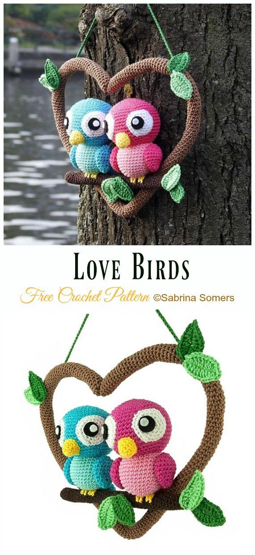 Crochet Bird Amigurumi Free Patterns