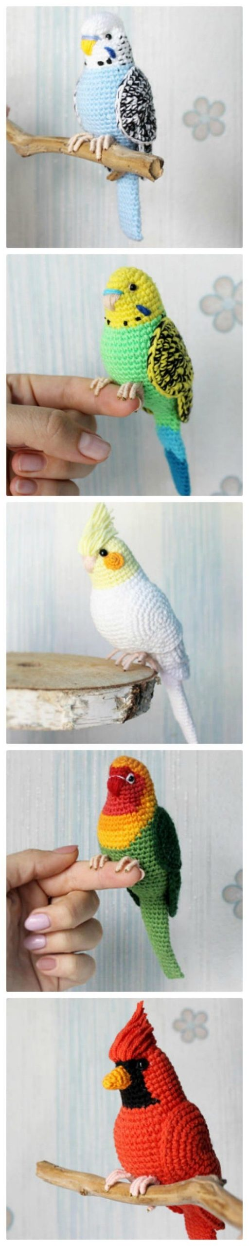 Crochet Bird Patterns Easy DIY Video | The WHOot