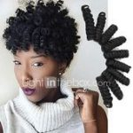 Crochet Bouncy Curl Twist Braids Haarverlängerungen Kanekalon Hair Braids 2017 ...