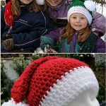 Crochet Christmas Hats Free Pattern Ideas