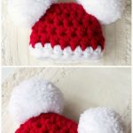 Crochet Christmas Hats Free Pattern Ideas | The WHOot